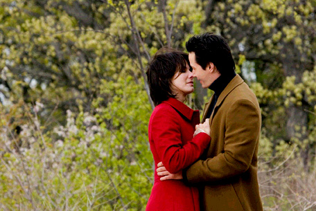 Image result for the lake house kiss