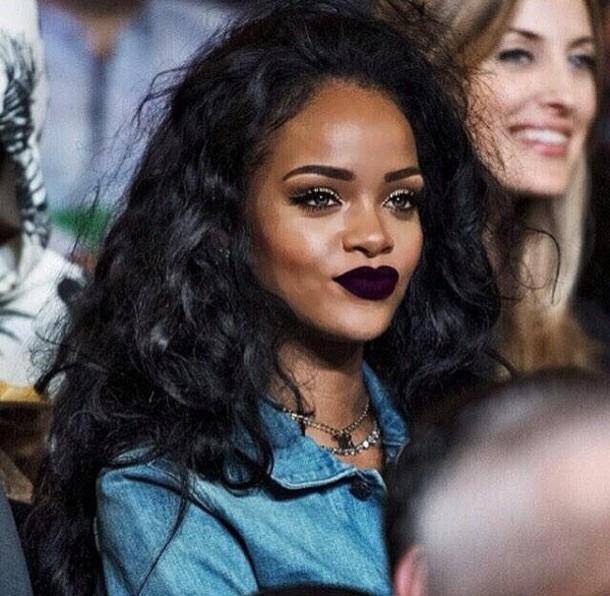 iavwk1-l-610x610-make-dark+purple+lipstick-lipstick-blouse-rihanna-denim+shirt-hair+accessory-lisptick-purple+lipstick-lipstick+shade-mac+cosmetics-rihanna+style.jpg