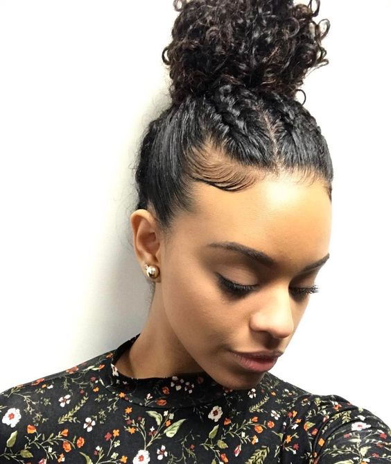 Natural Hair Style For Night Out Faira Mesquita