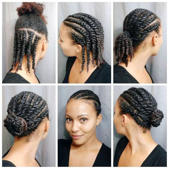protective hair styles 1